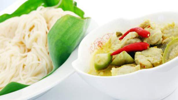 สูตรวิธีทำ แกงเขียวหวานลูกชิ้นปลากราย
